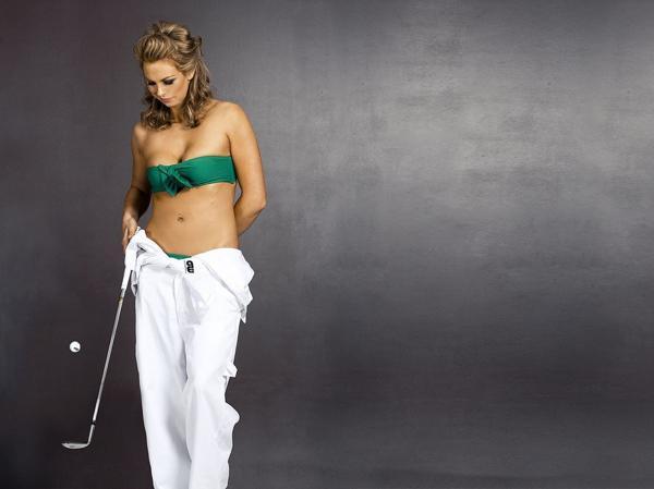 Sophie Horn es una jugadora de golf del Reino Unido