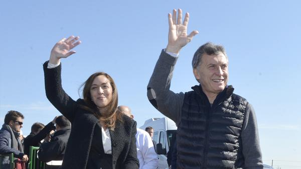 Mauricio Macri junto a María Eugenia Vidal (Presidencia de la Nación)
