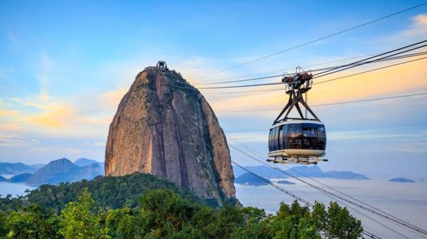 Las vistas de la ciudad desde el Pan de Azúcar son verdaderamente increíbles (Shutterstock)