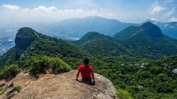 La Floresta de Tijuca es la mayor selva urbana del mundo y se respira naturaleza (Shutterstock)