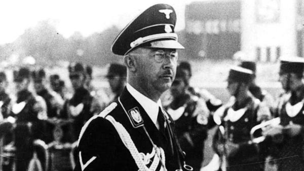 Heinrich Himmler fue uno de los principales líderes del partido nazi