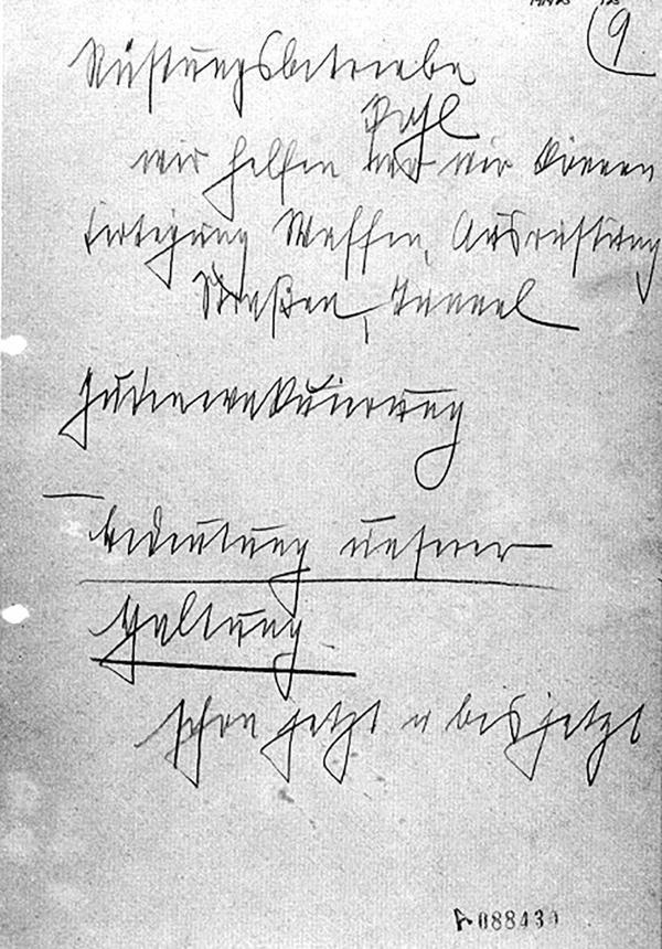 Manuscrito de Himmler