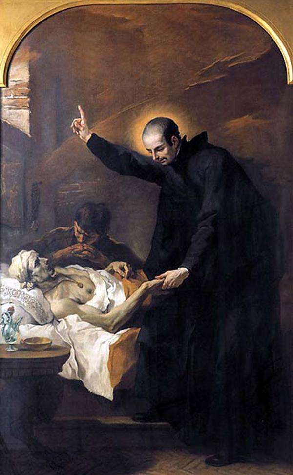 """""""Jamás dejaré de entregar lo mío a los necesitados, hasta que no tenga ni un metro para mi tumba"""", decía San Cayetano"""