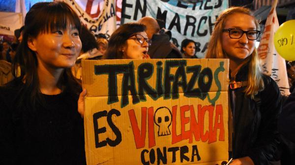 La marcha en Córdoba (Télam)