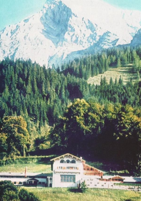 The Berghof, Hitler's home in the Alps