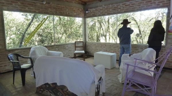 Un salón de usos múltiples en la administración de la reserva (R.Peiró)