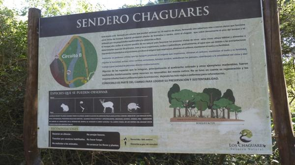Turismo sustentable y actividades de concientización ambiental en la reserva