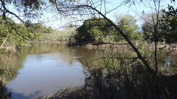 El riacho Tragadero (foto: R.Peiró)