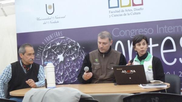 De izq a der: Humberto Ramírez Arbo, Javier Cardeli y Griselda Oria (R.Peiró)