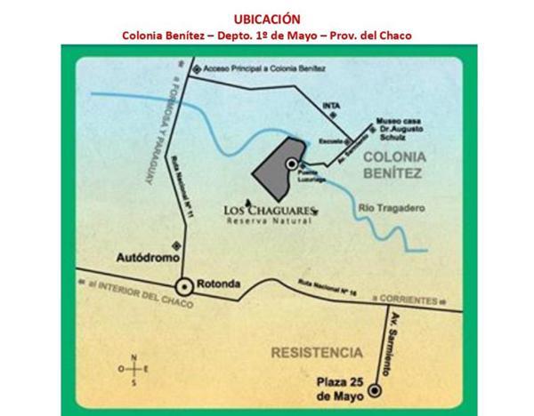 La reserva y su ubicación privilegiada