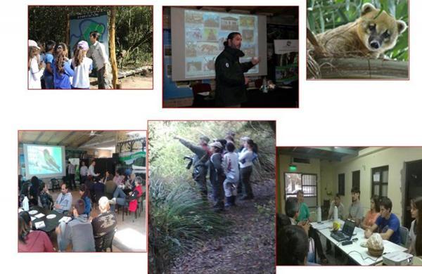 Actividades en la reserva Los Chaguares