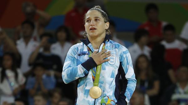 Paula Pareto será la abanderada argentina en la ceremonia de clausura(AFP)