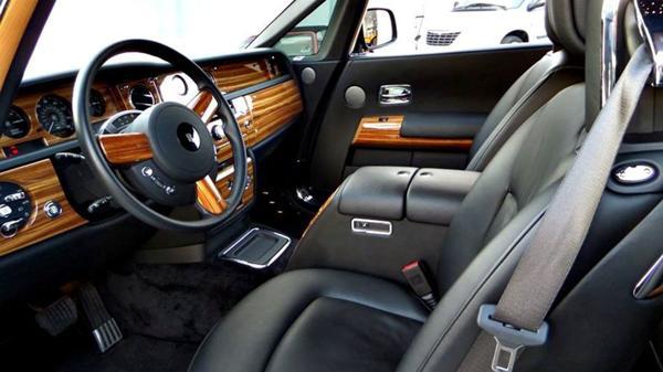 El interior del Rolls Royce phantom cupé