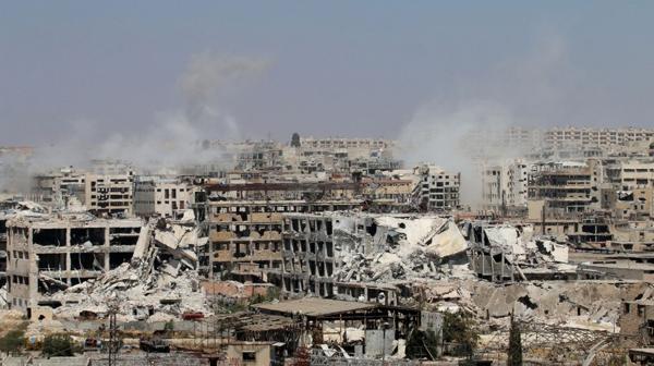 Ruinas en Alepo (AFP)