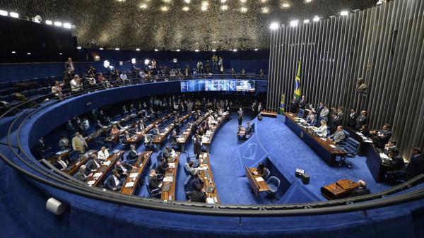 El mínimo requerido en el Senado para destituir a Rousseff es de 54 votos (EFE)