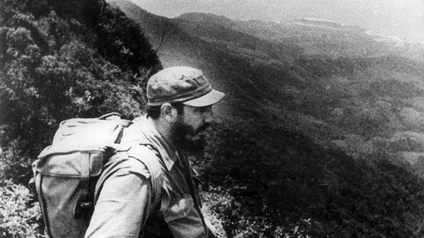 Fidel Castro en la Sierra Maestra, desde donde planificó el derrocamiento de Fulgencio Batista (EFE)