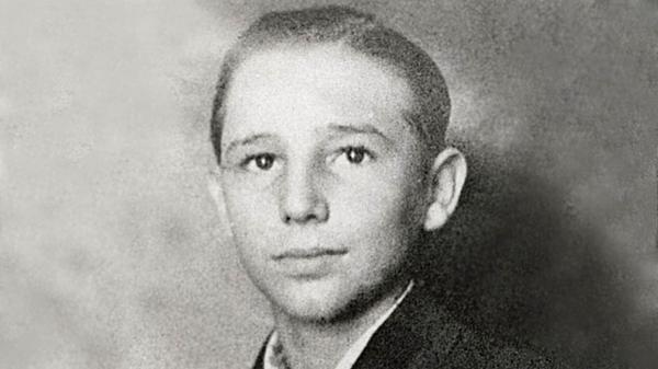 Fidel Castro durante su niñez. Nació en una familia rica