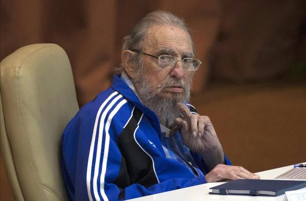 Fidel Castro, en Abril de este año, en el Congreso del Partido Comunista de Cuba (AP)