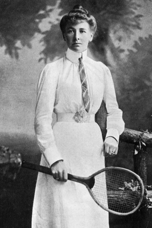 """Charlotte Cooper, la primera mujer en """"colgarse una medalla"""""""