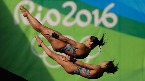Ingrid de Oliveira y Giovanna Pedrosa terminaron últimas