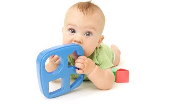 """En esta etapa los niños suelen """"llevarse todo a la boca"""" (Shutterstock)"""