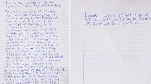 La desgarradora carta que dejó Danny a sus padres antes de quitarse la vida (facebook)