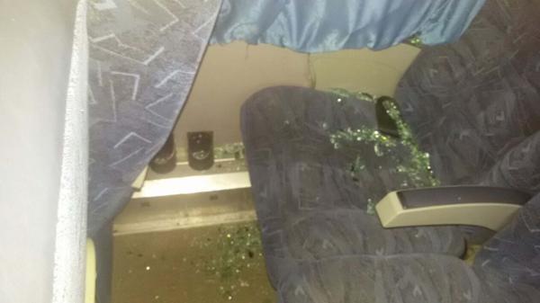 Algunos cristales hirieron a las mujeres (@walterlucianoc1)