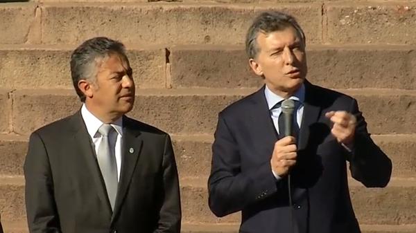 """""""Vamos por el camino correcto"""", afirmó Macri"""