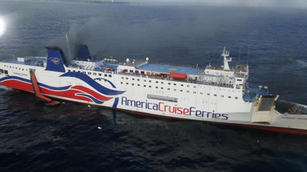 512 personas estaban a bordo del ferry