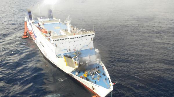 Las Fuerzas Unidas de Rápida Acción (FURA) llegaron a la embarcación y dirigieron las tareas de rescate