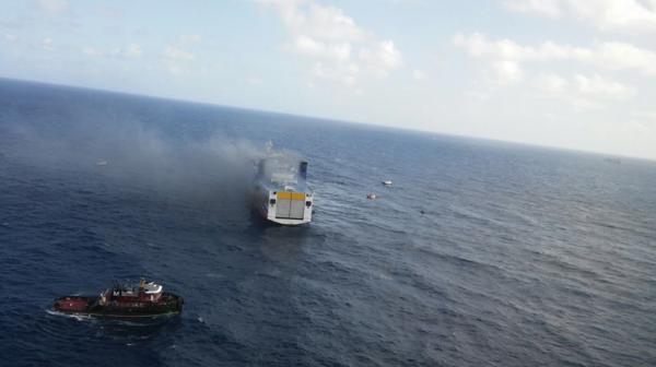 El siniestro se produjo a un kilómetro de la costa de San Juan