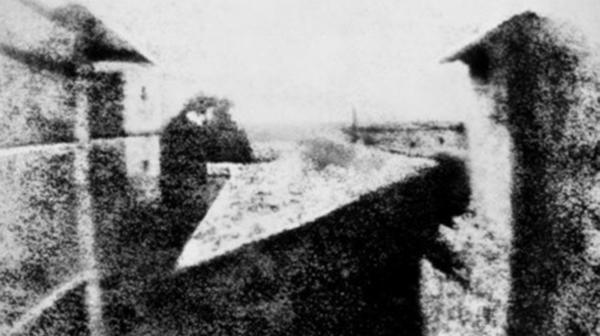 La primera foto de la historia, de Joseph Nicéphore Niépce