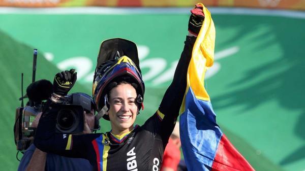 Mariana Pajón es bicampeona olímpica y Colombia batió su record de medallas doradas en un mismo Juegos Olímpico (Reuters)