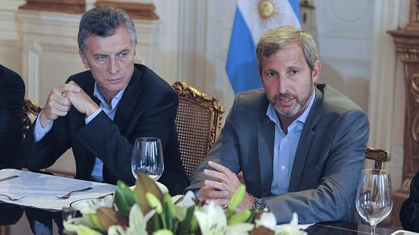 Macri junto a Frigerio, que trabajó duro para impulsar la reforma electoral