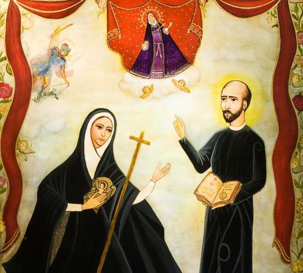 Unas cien mil personas participaron de los ejercicios espirituales de San Ignacio de Loyola, a través de María Antonia de Paz y Figueroa