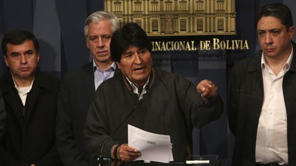 El presidente Evo Morales (EFE)