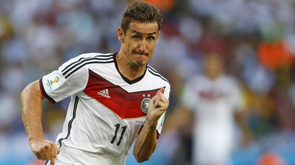 """Miroslav Klose no pudo levantar """"La Orejona""""(Shutterstock)"""