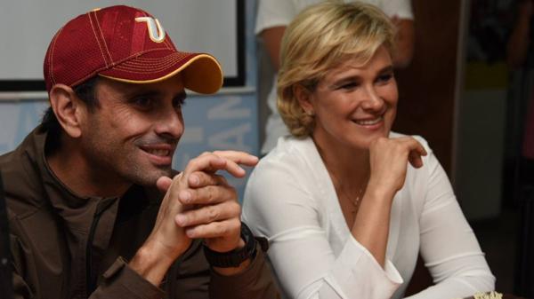 Henrique Capriles se reunió con la opositora ecuatoriana Cynthia Viteri (@CarlosBailonS)