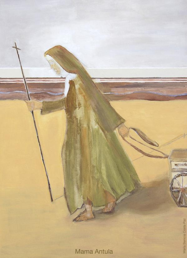 """""""Caminar mientras Dios me dé vida"""" (María Antonia de Paz y Figueroa)"""