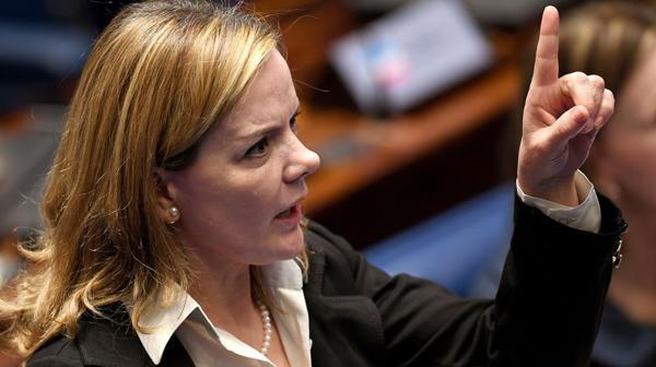 Gleisi Hoffmann (AFP)