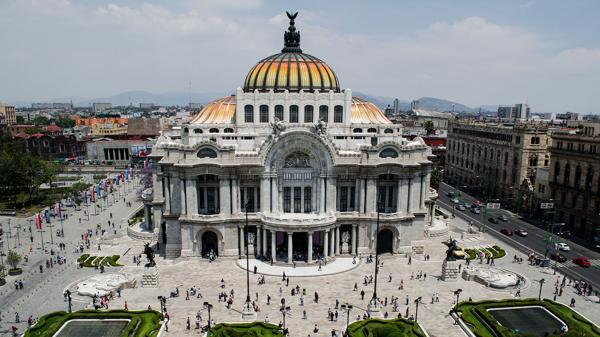 El Palacio de Bellas Artes está ubicado en DF (shutterstock)