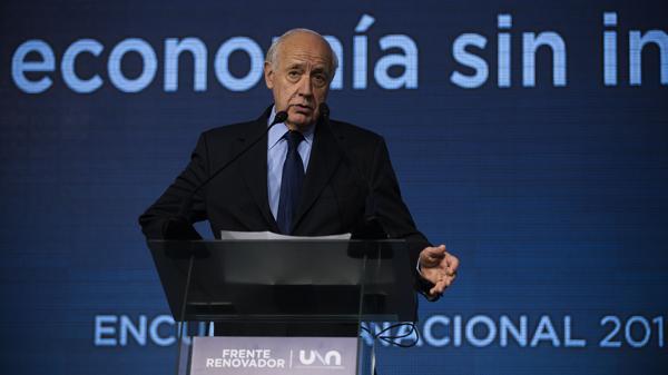 Roberto Lavagna no está conforme con el rumbo económico (Adrián Escandar)