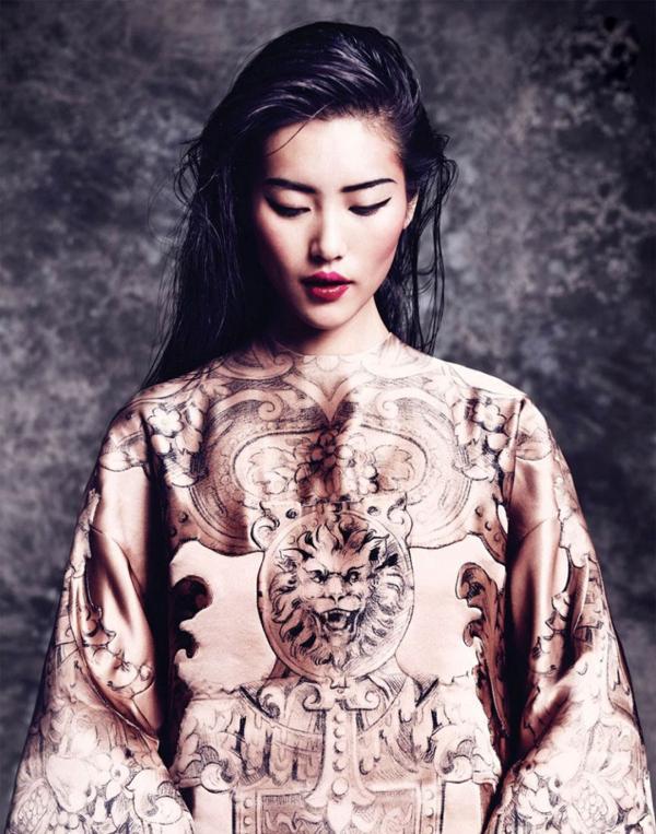 La china se convirtió en la primera supermodelo del país asiático