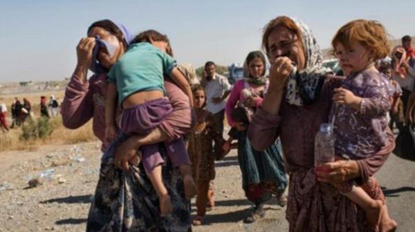 Millones de personas se vieron obligadas a desplazarse de Siria