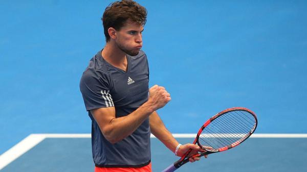 El austríaco Dominic Thiem tiene 22 años y protagoniza la renovación en el máximo plano del tenis mundial