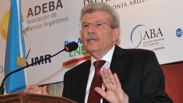 Juan Carlos Fábrega, ex titular del Banco Nación y del Central (NA)