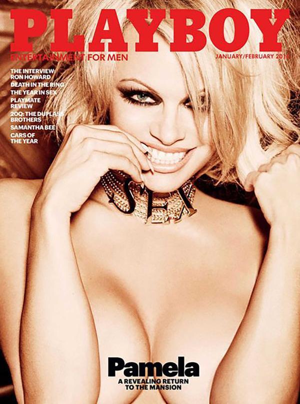 Pamela Anderson fue la última mujer que se desnudó para Playboy