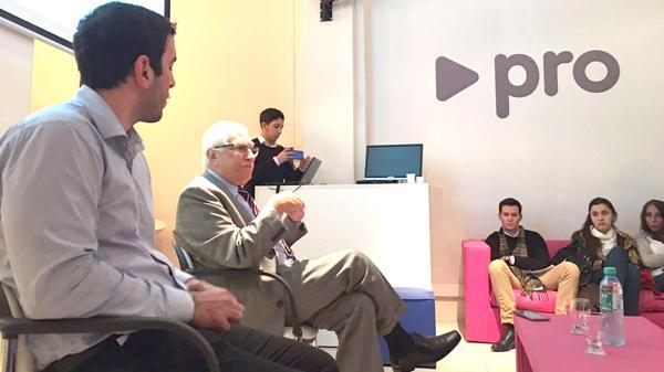 El titular del Indec, Jorge Todesca, y el presidente de Unión PRO Diversidad, Demián Martínez Naya
