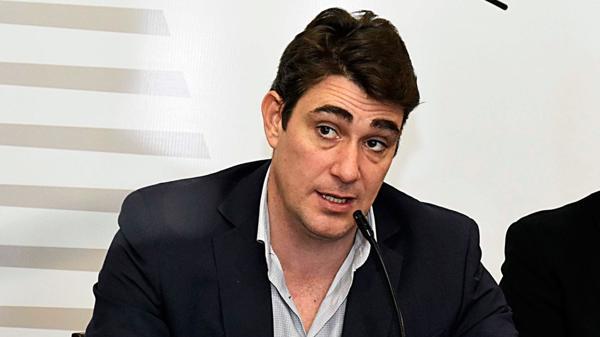Javier Iguacel, administrador general de Vialidad Nacional (Télam)