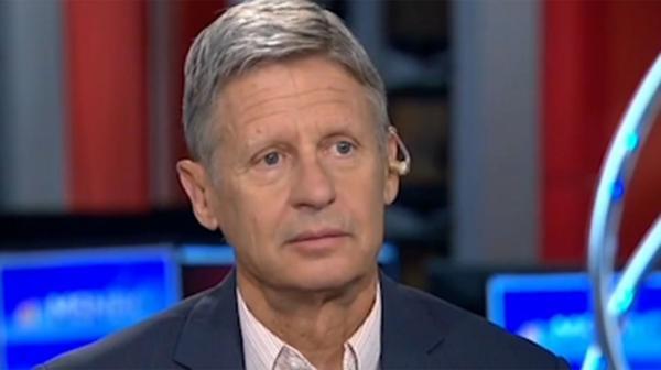 Gary Johnson, el tercer candidato que preocupa a Clinton